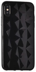 Samsung G960 Galaxy S9, Szilikon tok, Diamond, fekete