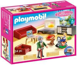 Playmobil Babaház - Nappali (70207)