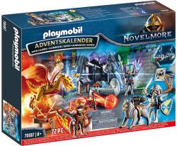 Playmobil Adventi naptár - Csata a mágikus kőért (70187)