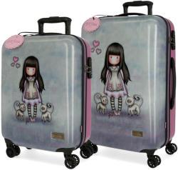 Santoro Tall Tails keményfedeles bőrönd szett (3471661)