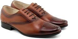 Lucianis Style Marimea 38, 41, Pantofi barbati office, eleganti din piele naturala maro - L887MD