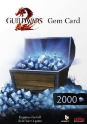 NCsoft Guild Wars 2 2000 Gems Card - Official Website - Pc - Worldwide