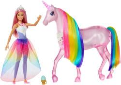 Mattel Barbie - Dreamtopia - Varázslatos egyszarvú és baba (FXT26)