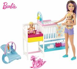 Mattel Barbie - Skipper bébiszitter gyerekszoba szett (GFL38)