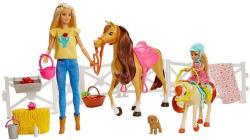 Mattel Barbie Lovarda játékszett (FXH15)