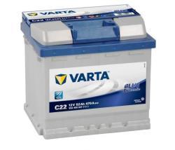 VARTA C22 Blue Dynamic 52Ah 470A Jobb (552 400 047)