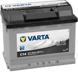 VARTA C14 Black Dynamic 56Ah EN 480A Jobb+ (556 400 048)