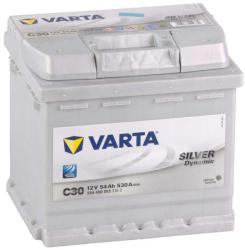 VARTA C30 Silver Dynamic 54Ah 530A Jobb+ (554 400 053)