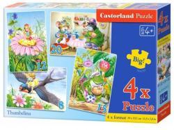 Castorland Hüvelyk Panna 4 az 1-ben puzzle (B-04270)