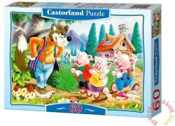 Castorland A három kismalac 60
