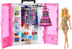 Mattel Barbie - Fashionistas ruhásszekrény babával (GBK12)