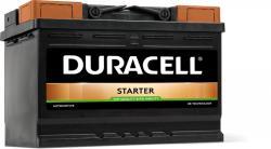 Duracell Starter 72Ah 660A right+