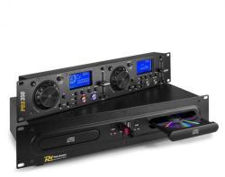Power Dynamics PDX350, dual DJ-CD/USB-player-controlor, CD/USB/MP3, negru (Sky-172.715)