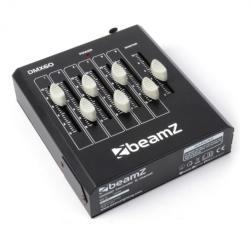 Beamz DMX60, controler de efecte de lumini cu 6 canale DMX, XLR (Sky-154.032)