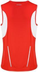 Spiro Vestă Athletic Spiro Unisex XL Red/White