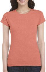 Gildan Tricou Laurentia XL Heather Orange