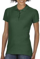 Gildan Tricou Polo Tasha M Forest Green