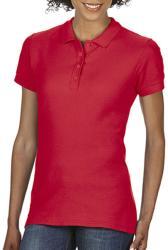 Gildan Tricou Polo Tasha L Red