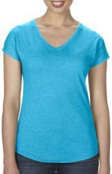 Anvil Tricou Emily XS Heather Caribbean Blue