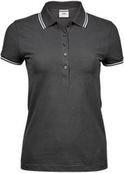 Tee Jays Tricou Polo Alina S Dark Grey/White