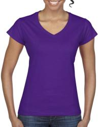 Gildan Tricou V-neck Olivia L Purple