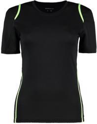 Gamegear Tricou Cooltex Diana XS Black/Fluorescent Lime