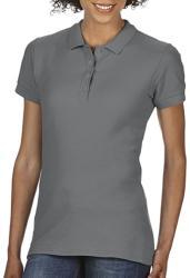 Gildan Tricou Polo Tasha L Charcoal