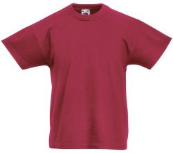Fruit of the Loom Tricou Florence Unisex Brick Red 152 (12-13)