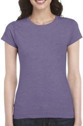 Gildan Tricou Laurentia L Heather Purple