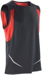 Spiro Vestă Athletic Spiro Unisex S Black/Red