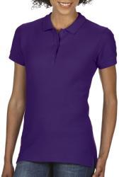 Gildan Tricou Polo Zoe L Purple
