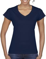 Gildan Tricou V-neck Olivia L Navy