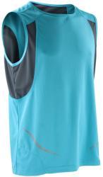 Spiro Vestă Athletic Spiro Unisex XL Aqua/Grey