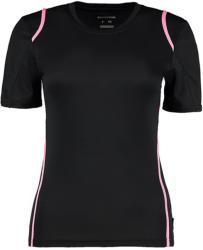 Gamegear Tricou Cooltex Diana S Black/Fluorescent Pink