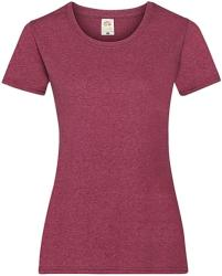 Fruit of the Loom Tricou Noemi XS Vintage Heather Red