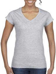 Gildan Tricou V-neck Olivia S Sport Grey