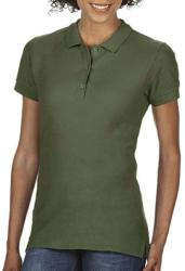 Gildan Tricou Polo Zoe L Military Green