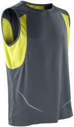 Spiro Vestă Athletic Spiro Unisex L Grey/Lime