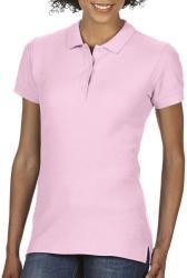 Gildan Tricou Polo Zoe L Light Pink