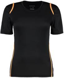 Gamegear Tricou Cooltex Diana M Black/Fluorescent Orange