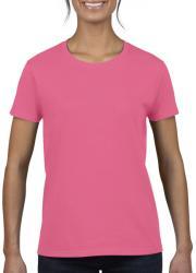 Gildan Tricou Lola S Safety Pink