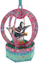 Santoro Ornament de brad Craciun Baubles Pinguini (BL008)