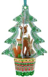 Santoro Ornament de brad Craciun Baubles Brad si animale (BL002)