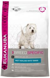Eukanuba Adult West Highland White Terrier 2,5kg