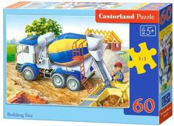 Castorland Építkezési terület 60 db-os (6618)