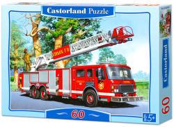Castorland Tűzoltóautó 60 db-os (06595)