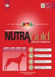 NutraGold Holistic Lamb & Rice 15kg