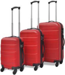 vidaXL 3 részes kemény borítású bőrönd szett (91141/2/3/4)