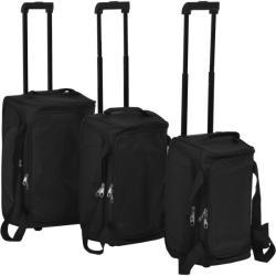 vidaXL 3 részes bőrönd szett (91311/2/3)
