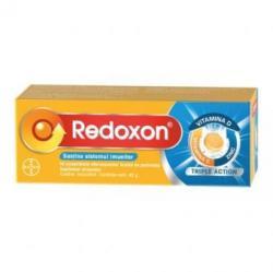 Bayer Redoxon Triple Action vitamina C, D si Zinc, 10 comprimate efervescente, Bayer (FSH828)